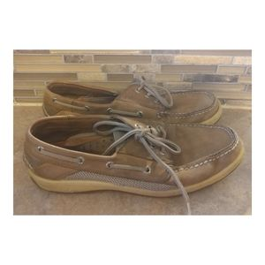 Men's Sperry Top Sider Leather Shoe 10.5M